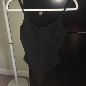 Never worn ribbed body suit